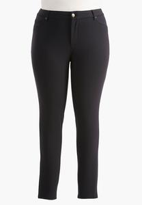 Essential Ponte Skinny Pants- Plus