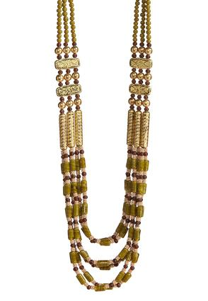 Mixed Bead Layered Necklace