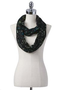 Blurred Camouflage Infinity Scarf