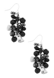 Bead Cluster Dangle Earrings