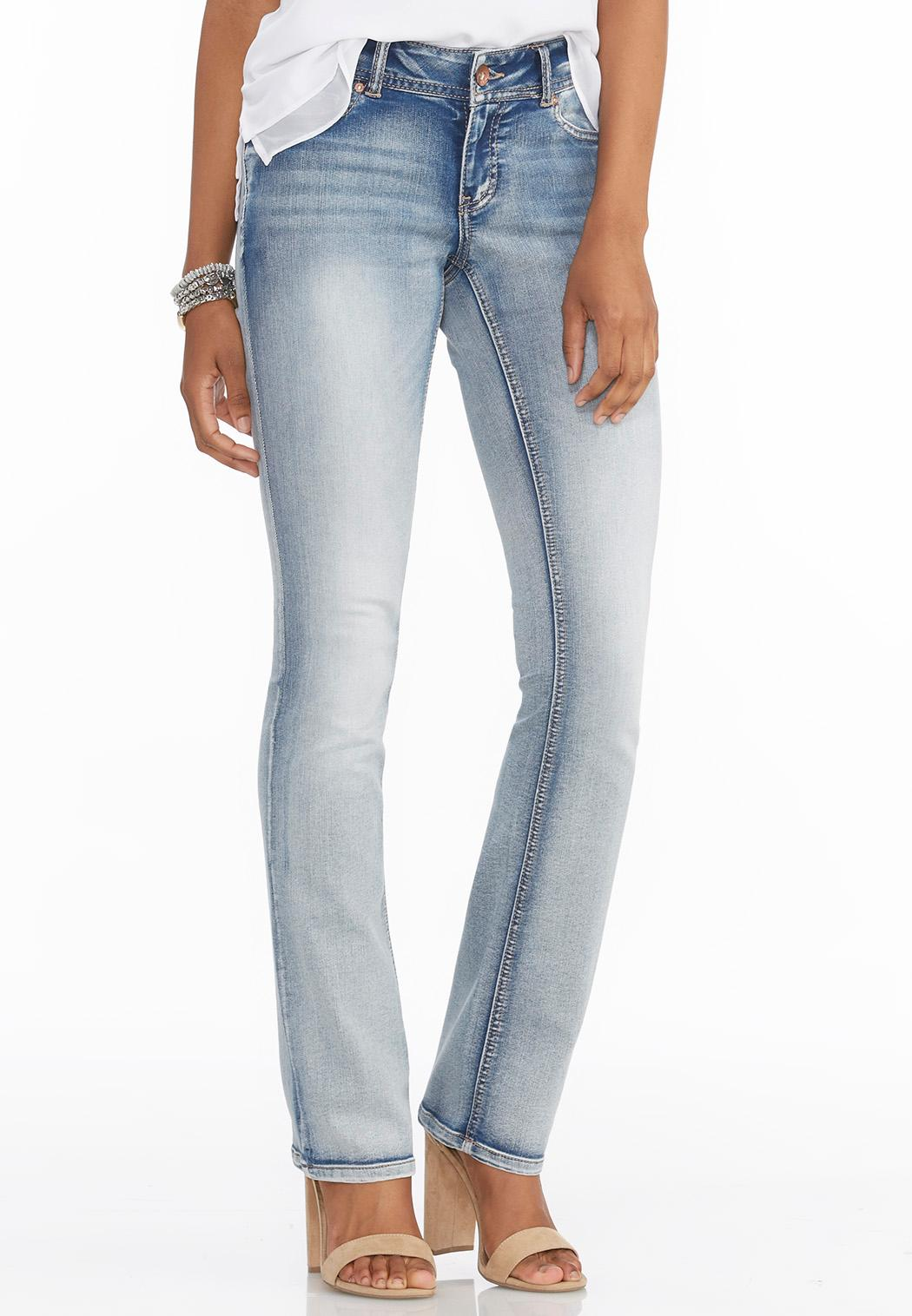 Light Wash Bootcut Jeans Denim | Cato Fashions