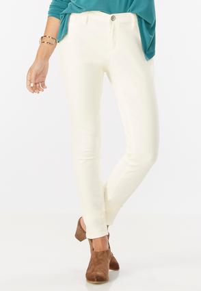 Colored Sateen Super Skinny Jeans