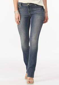 So Soft Stretch Bootcut Jeans