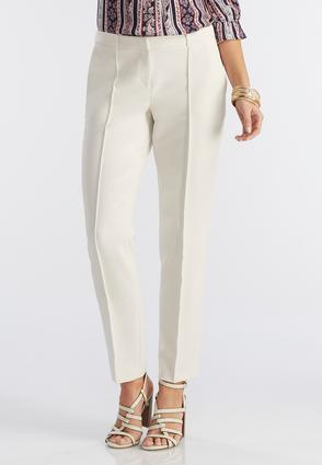Seamed Front Pencil Pants
