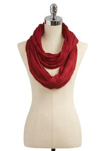 Diamond Knit Infinity Scarf