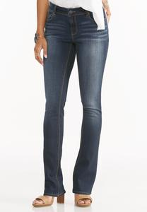 Contemporary Fit Bootcut Jeans