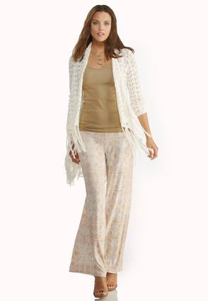 Waterfall Fringe Cardigan