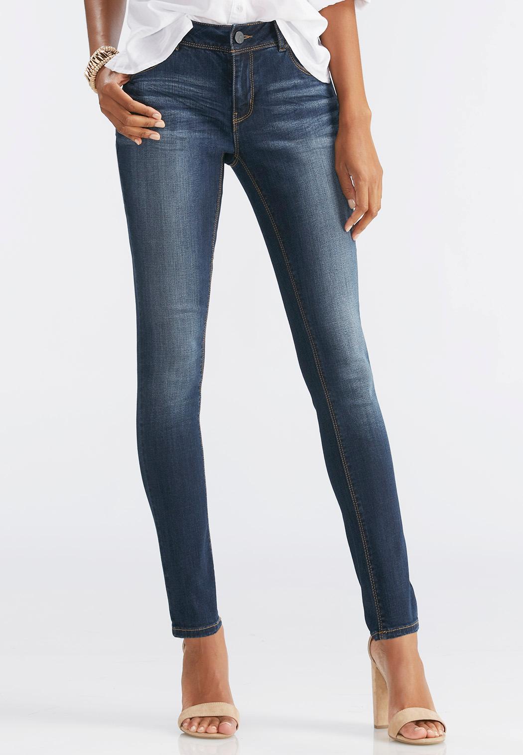 Misses skinny leg jeans