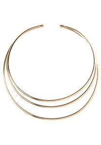 Triple Bar Choker