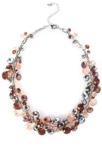 Shaky Bead Cluster Necklace