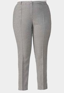 Houndstooth Pencil Pants-Plus