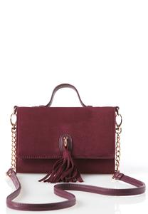 Tasseled Mini Crossbody