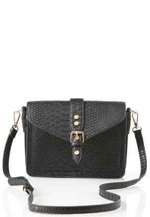 Snakeskin Briefcase Crossbody