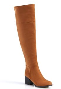 Seamed Over The Knee Boots