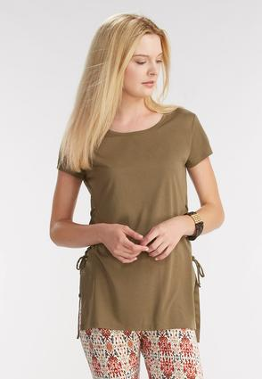 Lace Up Side Tunic