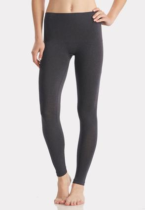 The Perfect Heathered Navy Seamless Leggings