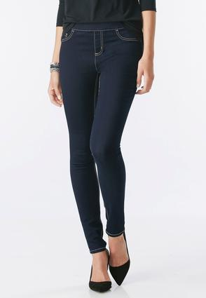 Pull- On Super Skinny Jeans