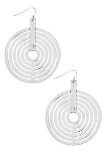 Hypnotic Disc Earrings