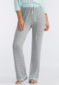 Polka Dot Pajama Pants