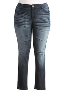 Contemporary Fit Skinny Jeans-Plus Petite