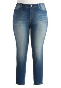 Uplifting Super Skinny Jeans-Plus