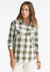 Plaid Popover Top-Plus