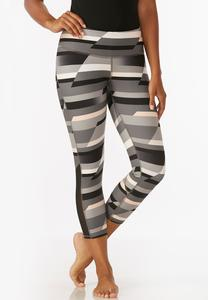 Colorblock Performance Crop Leggings