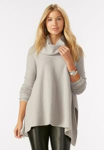 Swing Cowl Neck Pullover