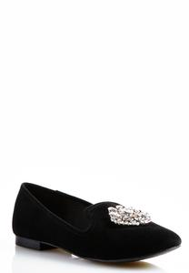 Jeweled Smoking Flats
