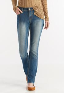 Classic Bootcut Embellished Jeans
