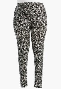 Vine Scroll Leggings-Plus