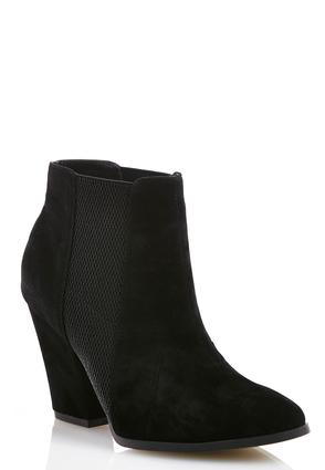 Double Gore Ankle Boots