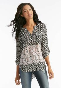 Mixed Medallion Popover Top