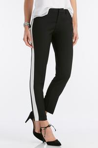 Tuxedo Stripe Pencil Pants