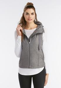 Zip Up Athleisure Vest