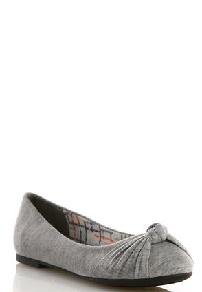 Knotted Band Heathered Flats