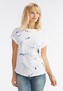 Free Bird Graphic Tee-Plus