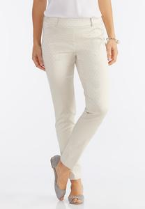 Geo Pull-On Slim Pants