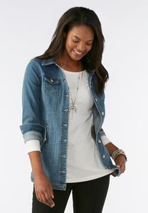 Denim Jacket-Plus