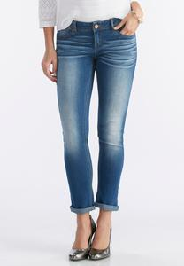 Modern Fit Skinny Ankle Jeans