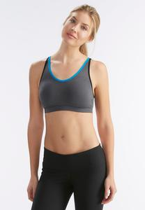 Cross Back Sports Bra-Plus