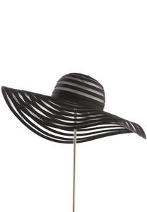 Illusion Striped Floppy Hat