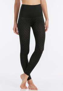 Polka Dot Leggings-Plus EXT