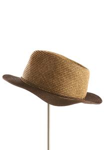 Two-Tone Panama Hat