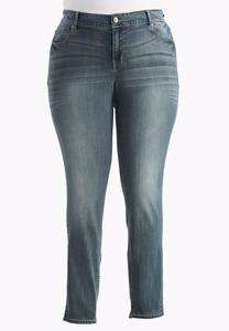 Contemporary Fit Skinny Jeans-Plus