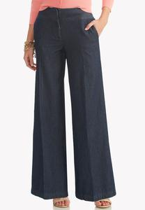 Conductor Striped Wide Leg Pants
