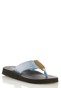 Sequin Platform Flip Flops Flip Flops Cato Fashions
