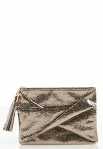 Twisted Front Metallic Clutch