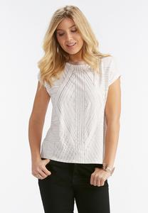 Glitter Art Deco Dolman Top