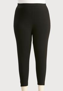 Essential Capri Leggings-Plus